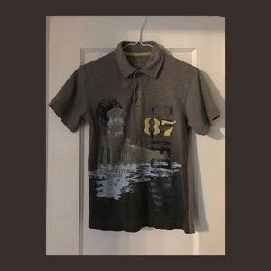 Boys Medium Old Navy Polo Shirt